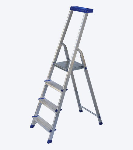 "ALUMINIUM STEP LADDER ""JHR"""