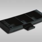 Plastic shelf for JHR ladders