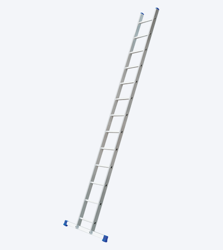"ONE-PIECE SUPPORTING ALUMINIUM LADDER ""VHR"""