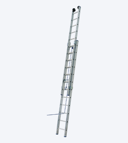 "TWO-PIECES UNIVERSAL LADDER WITH ROPE ""VHR L"""